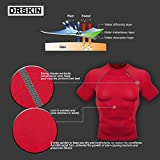 [DRSKIN] Compression Tight Short Sleeve Shirt
