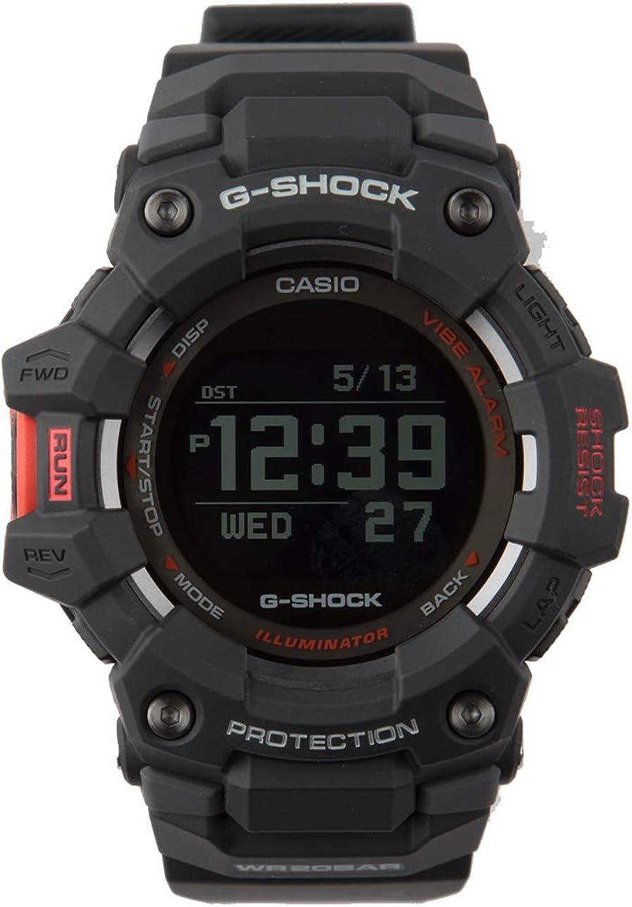 Men's Casio G-Shock G-Squad Power Trainer Digital Black Watch GBD-100-1