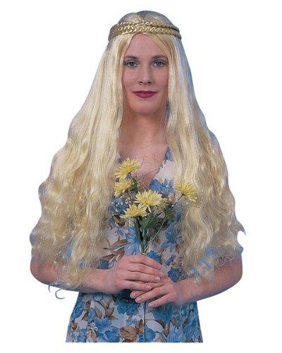 Adult Flower Child Wig Costume Accessory (Adult Flower Halloween Costume)