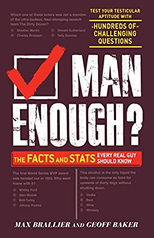 book cover of Man Enough?