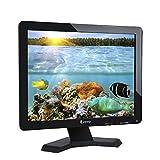 Eyoyo 17inch Widescreen LCD Monitor 1280x1024 Resolution 4:3 FHD 1080P HD Video Audio Display Screen HDMI BNC VGA AV USB In/OutG1 Earphone(17'' 1280x1024 LCD)