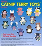 Good Booda Terry Catnip Cat Toy – 6.5″ X 0.5″ X 13.5″ – Multicolor ✍