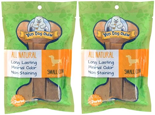 Image of (2 Pack) Yeti Dog Chew - Small 6 Pieces, 7 Ounces each
