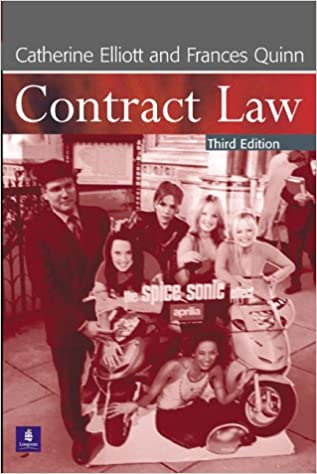 Book Contract Law, 3rd Ed.