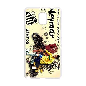 Personalized Durable Cases Samsung Galaxy Note 4 N9108 Cell Phone Case White Neymar Santos Jr Ngxij Protection Cover
