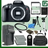 Canon EOS Rebel T5i Digital SLR Camera + 64GB Greens Camera Package