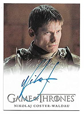 "2018 Game of Thrones Season 7 Autograph Nikolaj Coster-Waldau as Ser Jaime Lannister""Extremely Limited"""