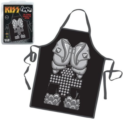 [KISS The Demon Gene Simmons Character Apron - Destroyer Figure Costume Design by ICUP] (Gene Simmons Costume For Sale)
