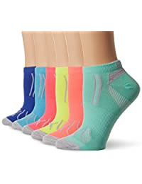 PUMA womens Puma Women's 6 Pack Low Cut Socks Running Socks