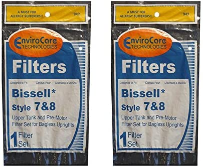 Bissell Upright Bagless Vacuum Cleaner Type 7//8//14 Filter kit 3093 203 1192 1085