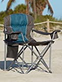 500-lb. Capacity Heavy-Duty Portable Chair (Blue) - Best Reviews Guide