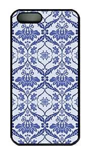 Hot iPhone 5S Customized Unique Print Design Blue Decorative Design Decorative Design New Fashion PC Black iPhone 5/5S Cases by icecream design