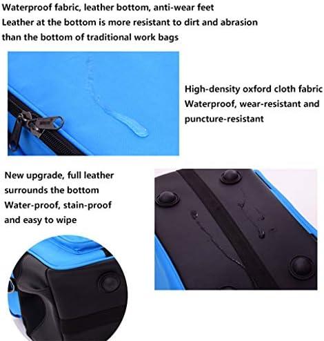 LHT 多機能厚み付けそしてシングルショルダーポータブル広場から口大容量ツールキットを増やします ツールボックス (Size : 20 inches)