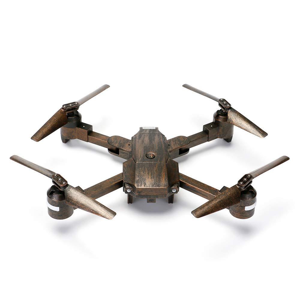 NBKLS Drohne mit Kamera, RC Quadcopter mit 720P HD Adjustable Camera WiFi Live Video, Fernbedienungshubschrauber mit optischer Flow-Positionierung