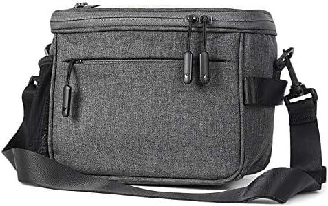 自転車バッグ 電話/ナビゲーションポケットと取り外し可能なショルダーストリップ付き多機能防水4.5Lハンドルバーバイクバッグ 耐磨耗性 収納便利 取り付け簡単 (Color : Grey, Size : 4.5L)