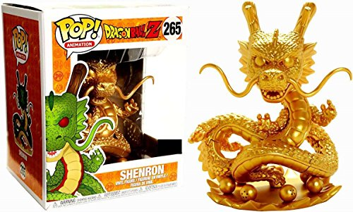 Figura Pop! Dragonball Z Shenron Dragon Gold Exclusive 1