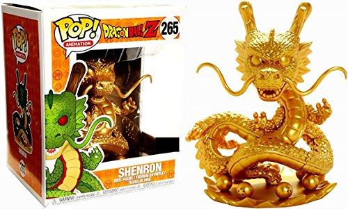 Figura Pop! Dragonball Z Shenron Dragon Gold Exclusive 1