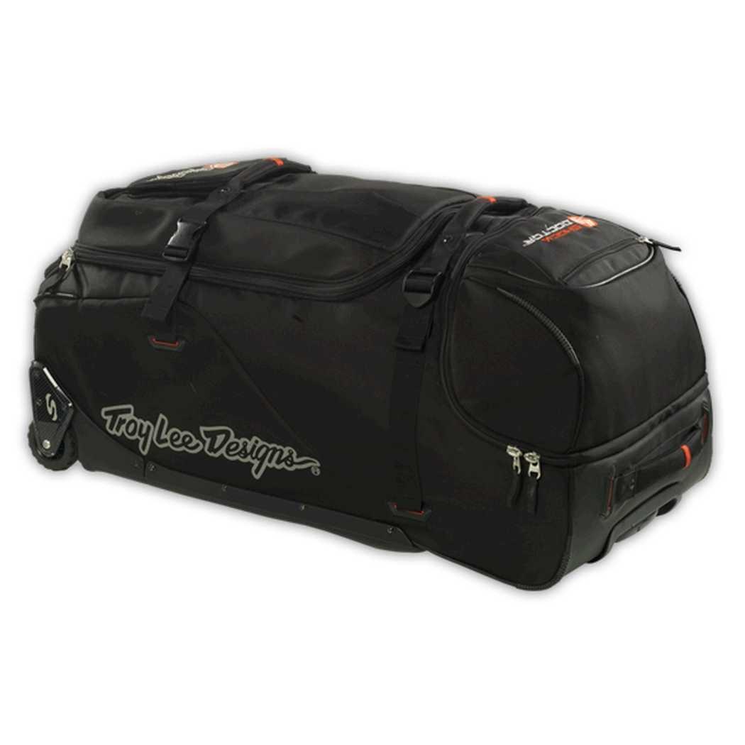 Troy Lee Designs TLD Premium Wheeled Gear Bag - Black, 34'' L x 18'' H x 18'' W