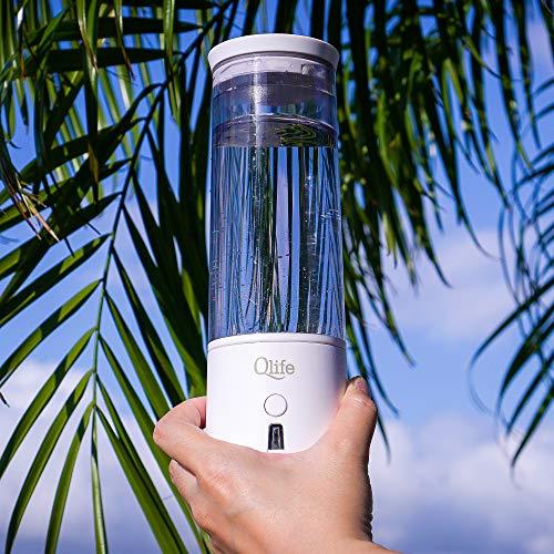 Qlife Q-Cup Hydrogen Water Generator | SPE/PEM Membrane Technology | High Grade Titanium Plates | Best Selling Portable…