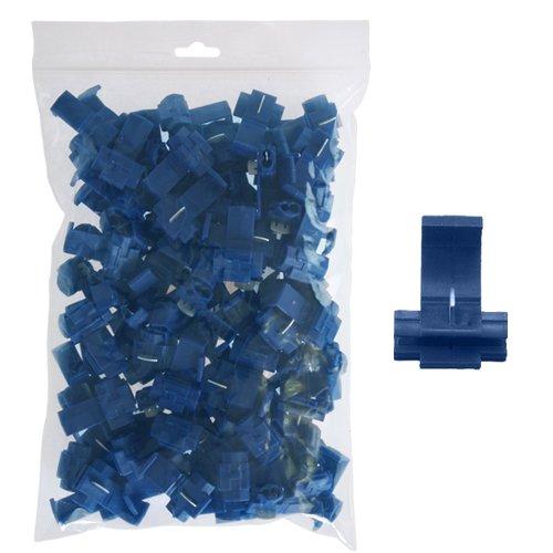100 pieza derivació n/conector rá pido/de derivació n Azul 1, 5 –  2, 5 qmm 5-2 5qmm K24 - Abzweigverbinder