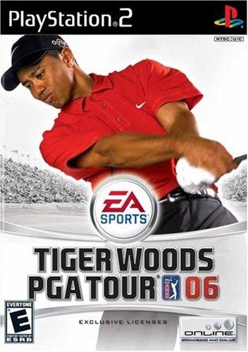 Tiger Woods PGA Tour 2006 - PlayStation 2 (Neck Price Wood)