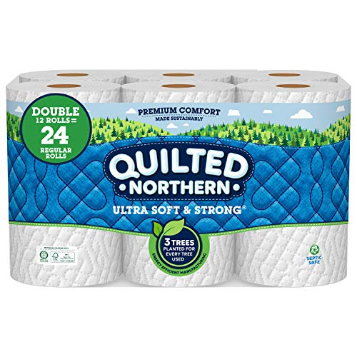 🥇 Quilted Northern Ultra Soft and Strong Toilet Paper
