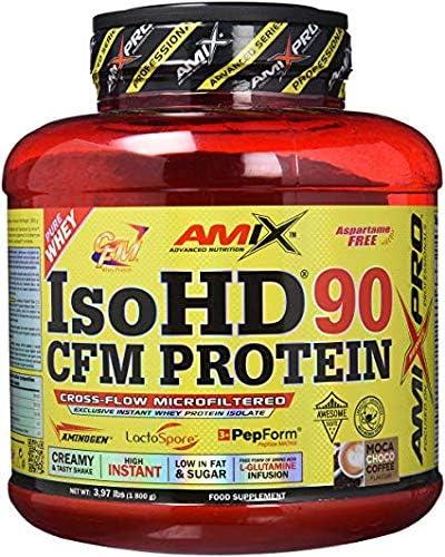 AMIX ISO HD 90 CFM PROTEIN (1,8 kg) - White Chocolate: Amazon ...