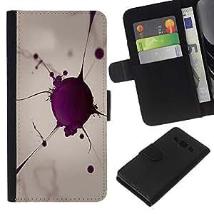 EJOY---La carpeta del tirón la caja de cuero de alta calidad de la PU Caso protector / Samsung Galaxy A3 / --Globulo