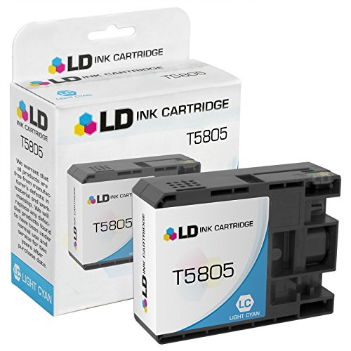 LD Remanufactured Ink Cartridge Replacement for Epson T580500 (Light Cyan)