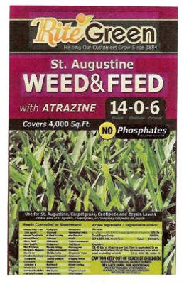 St Augustine Weed (20LB St Aug Weed/Feed)