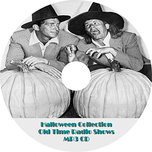 Halloween OTR Old Time Radio Show MP3 On CD-R 22 Episodes