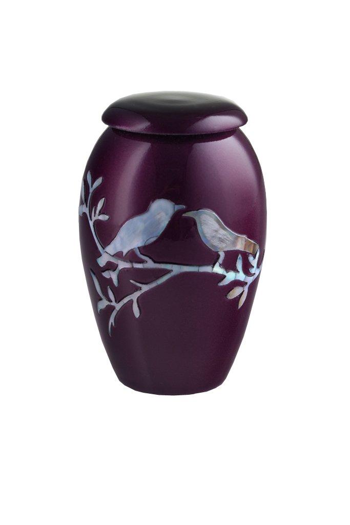 UrnsDirect2U Purple Dove Adult Decorative-urns 7520-10