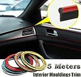 5M Car Decorative filler strip KIA K2 K3 K5 Sorento SportageR Rio Soul For ford focus cruze kia rio skoda octavia mazda opel bmw (Red)