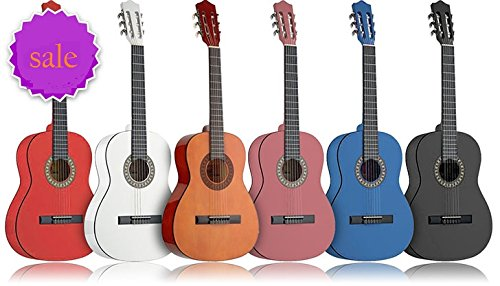 Kids Guitar - Kids Educational Toy --- National Standard Products (Pink) by National Standard Products®