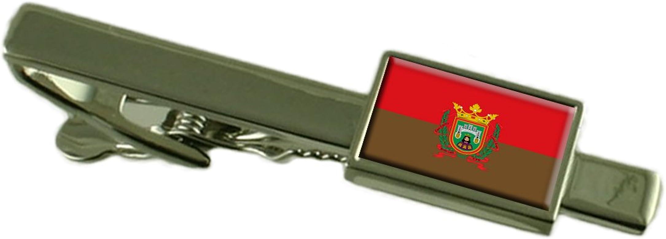 Select Gifts La Ciudad de Burgos Clip de Corbata Bandera España: Amazon.es: Joyería