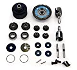 Mugen 1/8 MBX7R Eco * FRONT/REAR DIFFERENTIAL, 44T CONICAL GEAR, CUPS & BEARINGS *