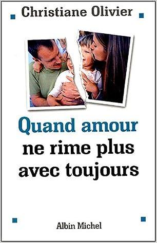 Livre Quand amour ne rime plus avec toujours epub pdf