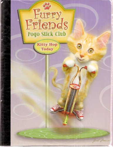 Furry Friends Pogo Stick Club  Kitty Hop Today  Cat Tales  80 Sheets Wide Ruled Notebook