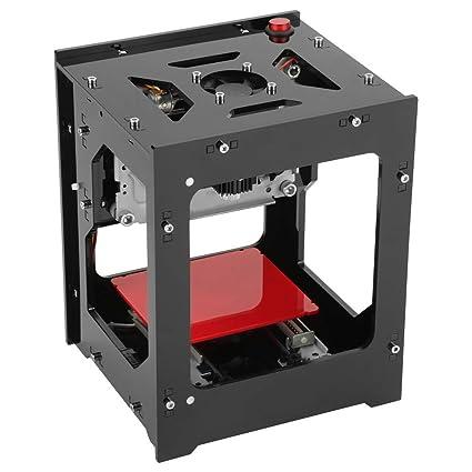 1000mW Laser Engraver, Walfront Laser Engraver Printer Mini USB Engraving Machine, 490x490 Pixel Laser Engraving Cutter Laser Engraving Machine