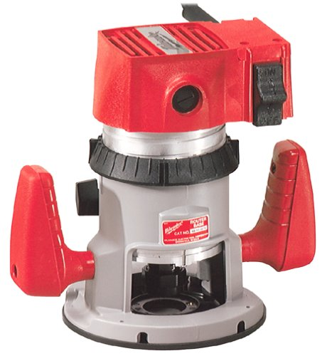"Milwaukee 5682 2 HP 12-Amp Router with 1/2"" and 1/4"" Collet"
