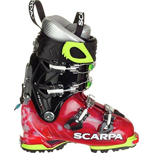 Scarpa Women's Freedom SL 120 Ski Boots Scarlet / White 21.5 by Scarpa
