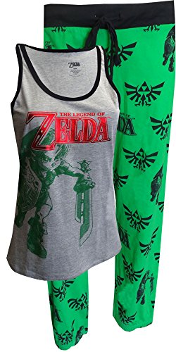 Nintendo The Legend Of Zelda Capri Pajama Set