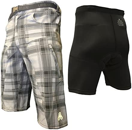 MTB Cycling Short Off Road Bicycle CoolMax® Padded Clickfast Inner Liner Shorts