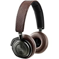 B&O PLAY by Bang & Olufsen Beoplay H8 Wireless On-Ear Headphone with Active Noise Cancelling, Bluetooth 4.2 (Gray Hazel) (Certified Refurbished)