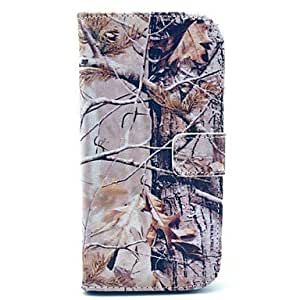 PU Leather Tree Pattern Case for HTC M8