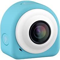VicTop Mini Lifestyle Action Camera / Camcorder / Dash Cam / Driving Recorder with 8 Mega Pixel COMS Image Sensor, 145 Degree Wide Angle Lens, 2.4G Remote Controller+WiFi Module+ Free APP+ Sticky&Magnetic Plates, for Selfie Fans, Shutterbugs