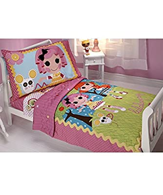 "Lalaloopsy ""Sew Magical"" 4-Piece Toddler Bedding Set"