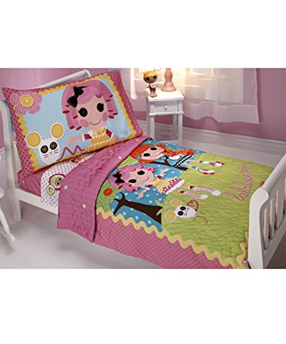 Lalaloopsy-Sew-Magical-4-Piece-Toddler-Bedding-Set