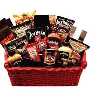 Amazon.com : Jim Beam & Jack Daniels Ultimate BBQ Grilling Gift ...