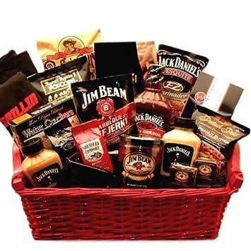 Amazon.com : Jim Beam & Jack Daniels Ultimate BBQ Grilling Gift ...